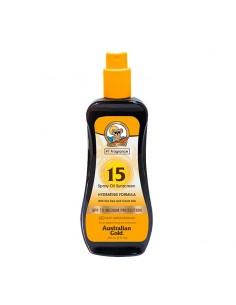 Spray Oil Sunscreen SPF 15...